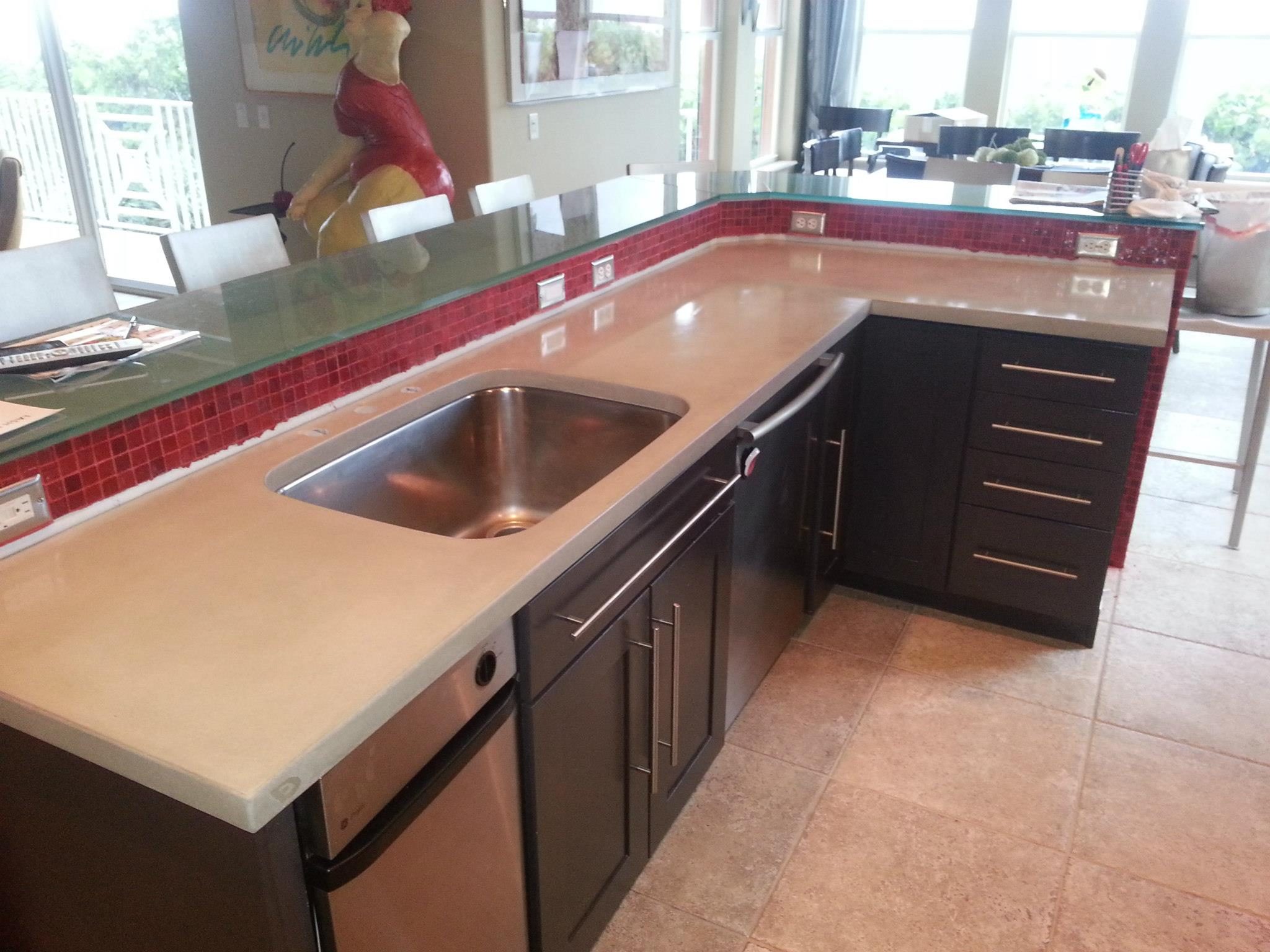 granite bathroom with countertops countertop quartz imagine kitchen dream smith polishing or rondas your