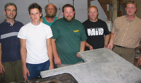 The First Concrete Countertop Institute Class