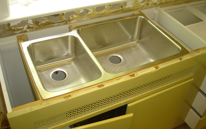 How To Install Undermount Kitchen Sinks | Concrete Countertops Blog