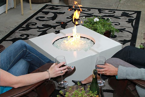 SAK Concrete Designs based on The Concrete Countertop Institute Fire Table Plan