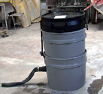 Sludge Buster concrete countertop waste water solution