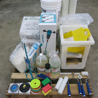 Concrete countertop supplies starter kit