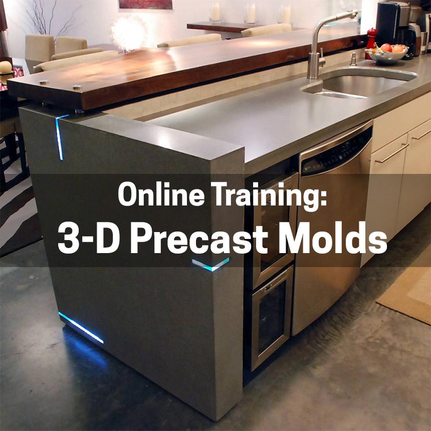 Online Training: 3 Dimensional Precast Molds U0026 Ramp Sinks