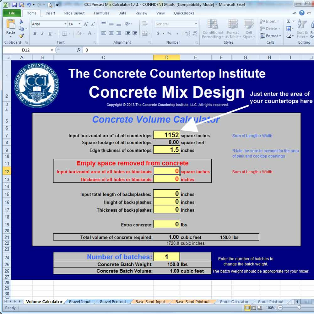 cosy additional with diy agreeable countertops kitchen colors about mix countertop youtube of formula concrete