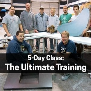 ultimate concrete countertop training