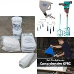GFRC Starter Kit materials mix equipment for concrete countertop making