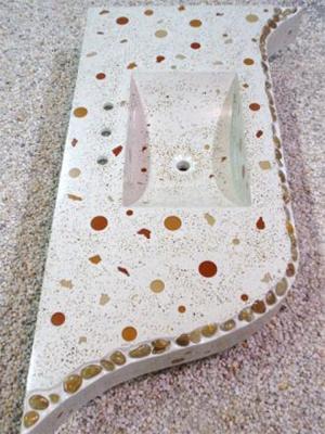 CounterIntuitive Christian Lotte stone vanity