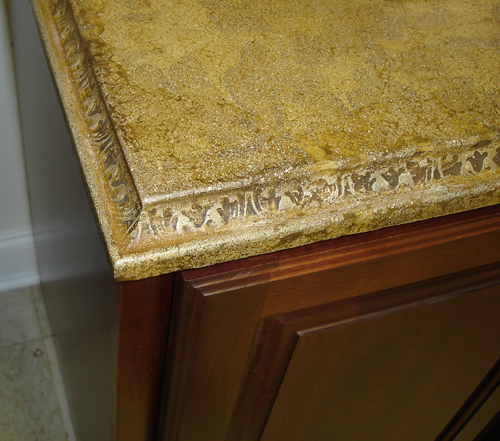 Fl Edge With Amber Acid Stain