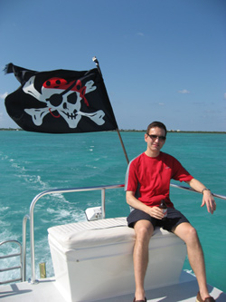 Jeff Girard Pirate Grand Cayman