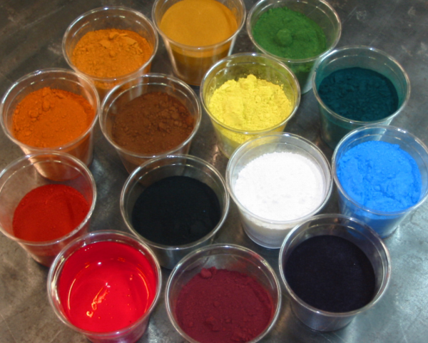 Pigments for concrete countertops