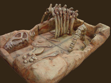 Dinosaur Sand Box