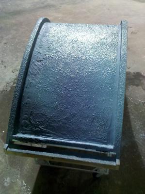 concrete lounge chair mist coat