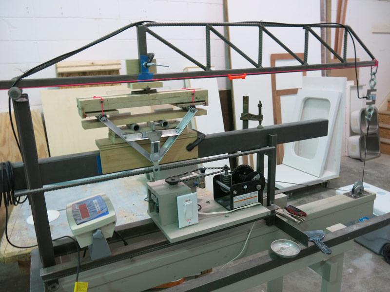 CCI-GFRC-flexural-test-machine