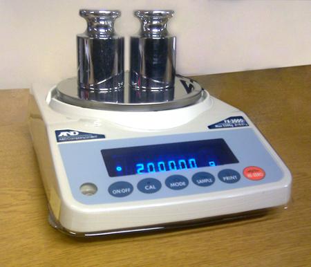Digital Scales: Measuring Concrete Countertop Mixes