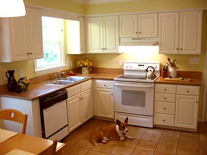 Jeff Girard first kitchen after
