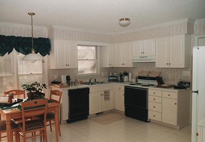 Jeff Girard first kitchen before
