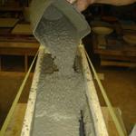 casting precast concrete countertop