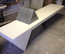 cci student concrete countertop lenny Cushing NH