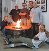 Pro GFRC concrete countertops class photo December 2014