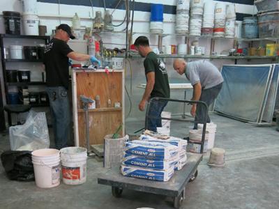 Rapid Set Cement-All in concrete countertops